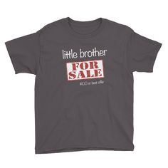 For Sale - Little Brother - Youth Short Sleeve T-Shirt