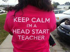 That's right! The best!! Head Start Classroom, Classroom Ideas, School Fun, School Ideas, Preschool Projects, Pre Kindergarten, Early Childhood Education, Career, Teacher