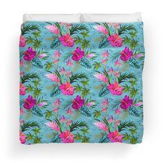 Hello Hawaii, a stylish retro aloha pattern.