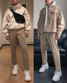 best casual wear for men Retro Outfits, Trendy Outfits, Vintage Outfits, Cool Outfits, Fashion Outfits, Fashion Trends, Moda Streetwear, Streetwear Fashion, Korean Fashion Men