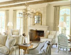 Just gorgeous. Soft and serene...beautiful living space.