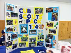 Cub Scout volunteer and scout recruiting poster I made for our school open house and county volunteer event :)