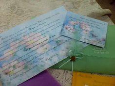 DECO ARTESANAL MIRIAN GAUNA:        tarjetas invitacion quince años : sobres en...