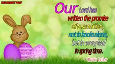 Easter Quotes With Images Easter Sayings, Easter Quotes, Hope Symbol, Christian Faith, New Life, Quote Of The Day, Christianity, Meant To Be, Religion