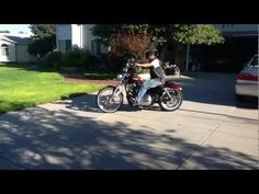 Harley 72 quick ride. - YouTube