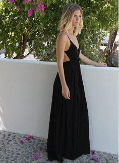 Only love for this Crochet Maxi Dress available @ melroseintheoc.com #maxidress #summer #crochet #melroseintheoc