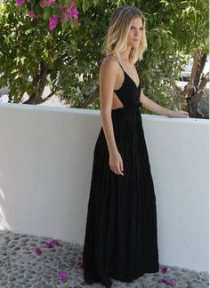 Only love for this Crochet Maxi Dress available @ melroseintheoc.com #maxidress #summer #crochet #melroseintheoc