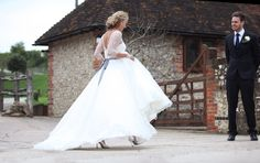 Caroline Castigliano Wedding Dress from White Mischief Bridal, Henfield