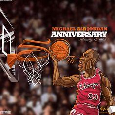 Michael Jordan 50th Wallpaper | Posterizes.com - NBA Wallpaper Artwork