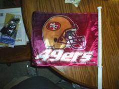 49er's car flag in Hubbie16's Garage Sale in Colorado Springs , CO for $7.00. 49er's car flag