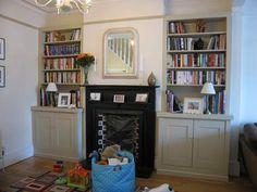 Shows me I prefer full length shelves and no cupboard.