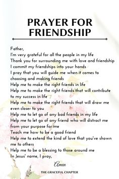 Prayer For Friendship, Bible Verses About Friendship, Inspirational Quotes About Friendship, Inspirational Prayers, Meaningful Quotes, Friendship Quotes, Prayer Scriptures, Faith Prayer, Prayer Quotes