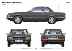 Mercedes Benz – One Stop Classic Car News & Tips Mercedes 500sl, Mercedes Benz Models, Classic Mercedes, Motor Car, Auto Motor, Motor Sport, Old Cars, Classic Cars, Car Drawings
