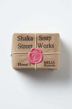 Wax stamp adds a color punch and a you're special feeling