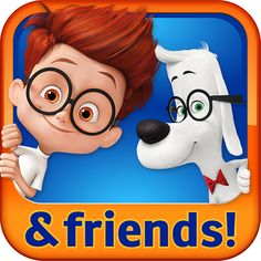 Mr. Peabody & Sherman - hop in the WABAC machine for a trivia trip through time (free educational Android kids apps)