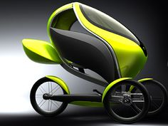 trike 2 TrikE: A Green, Electric Tricycle for Adults!
