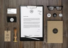 15 Free High-Resolution Corporate Identity Mockup Templates