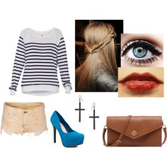 Sem título #15 by amandasawitt on Polyvore featuring moda, Wildfox, Jessica Simpson, Tory Burch, ASOS and TNA