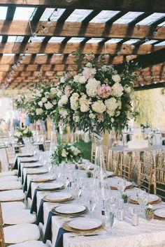 outdoor wedding reception idea; featured photographer: Yasmin Khajavi Photography