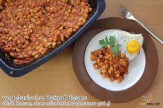Baked Beans Rezept – vegetarisch – ohne Bacon, aber mindestens genauso gut