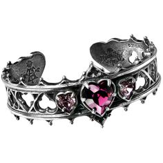 I thought it was a ring,  but u think it would work perfectly as an accessory.  Alchemy Gothic Elizabethan Bracelet