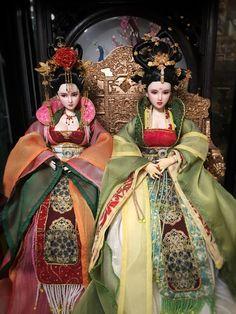 Is Porcelain China Info: 2737410471 Anime Dolls, Bjd Dolls, Barbie Dolls, Chinese Dolls, Chinese Art, Pretty Dolls, Beautiful Dolls, Kimono Chino, Anime Girl Dress