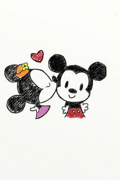 Mickey and Minnie<3