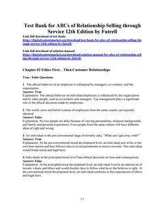 43 best test bank 2 images on pinterest in 2018 biochemistry download test bank for abcs of relationship selling through service 12th edition by futrell fandeluxe Choice Image