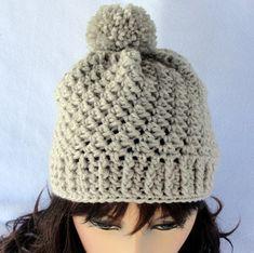 Crochet hat pattern crochet beanie pattern by longbeachdesigns