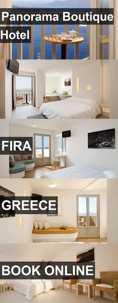 Hotel Panorama Boutique Hotel in Fira, Greece. For more information, photos, reviews and best prices please follow the link. #Greece #Fira #PanoramaBoutiqueHotel #hotel #travel #vacation