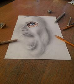 Mind-Boggling 3D Drawings on Flat Sheets of Paper by JJK Airbrush