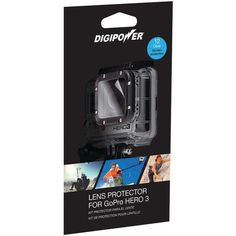 Digipower Lp-Gph3 Lens Protector With 12 Clear Screens For Gopro(R) Hero3