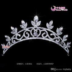 2014 cristal deixa Tiaras acessórios de cabelo noivas casamento eventos de frete grátis