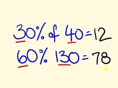 Percentage Trick - Solve precentages mentally - percentages made easy with the cool math trick! - YouTube #mathtricks