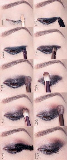 beautiful smokey eyes