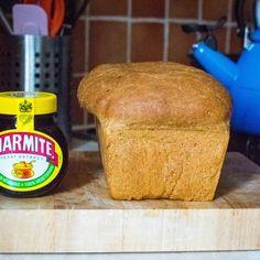 Recipe: Marmite Bread ~ The Fenwench Marmite, Cornbread, Bread Recipes, Easy Meals, Vegetarian, Homemade, Ethnic Recipes, Food, Millet Bread