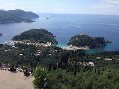 Wat een uitzicht Corfu