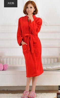 8d7e55f13d 2017 Winter Autumn thick flannel women s Bath Robes gentlemen s home-wear  ma  fashion
