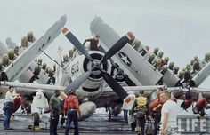 Photo by Bill Ray Us Navy Aircraft, Ww2 Aircraft, Aircraft Carrier, Military Jets, Military Aircraft, Navy Carriers, Douglas Aircraft, Close Air Support, Navy Air Force