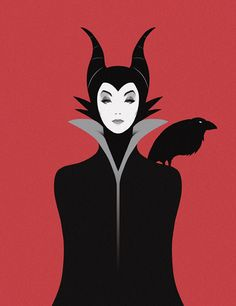 That expression and posture says so much about her character! Maleficent.