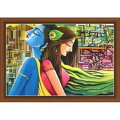 Radha Krishna Paintings (RK-9281)