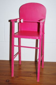 treasured vintage prop rental minty lime green high chair no tray