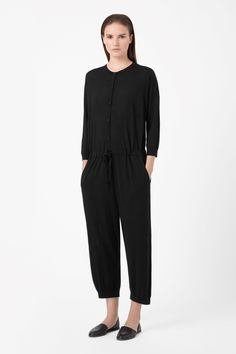 knitted merino jumpsuit