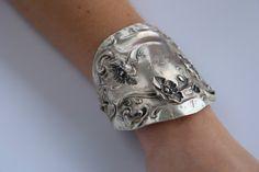 Elegant Antique Sterling Silver Floral Art Nouveau by CelebLuxe