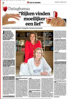 Berkeley International Belgium in Gazet Van Antwerpen- Exclusief internationaal datingbureau