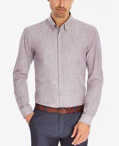 BOSS Men's Striped Slim-Fit Button Down Shirt - Hugo Boss - Men - Macy's