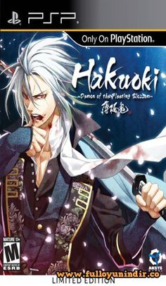 Hakuoki Demon of the Fleeting Blossom Playstation Portable Full
