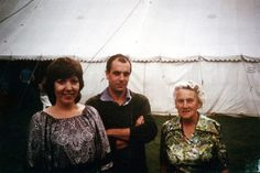 1981, Syd, his sister Rosemary, & his Mum - Essex. At this point, Syd was painting a lot, picking flowers, gardening, and still playing guitar. A year after this photo was taken, 1982, he would be in a mental institution residing there for two years.
