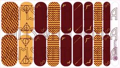 Thank you for your support of my artwork. Harry Potter Nails, Jamberry Nail Wraps, Order Form, You Nailed It, Custom Design, Nerd, Inspired, Artwork, Hair