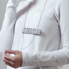 Small Beam Necklace – Noy Alon Jewelry Design